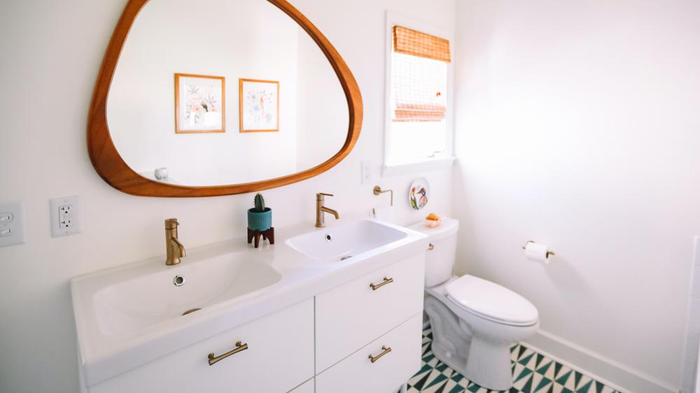 Λεπτομέρειες και αξεσουάρ μπάνιου