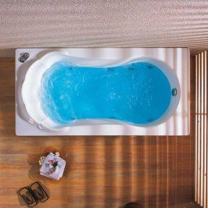 Ακρυλική μπανιέρα υδρομασάζ Acrilan Margarita