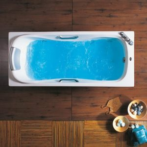 Ακρυλική μπανιέρα Acrilan Thasos 155 x 75