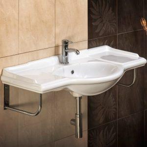 Ρετρό νιπτήρας μπάνιου Naftilos