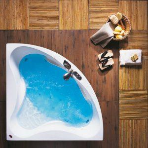 Γωνιακή μπανιέρα Acrilan Paros