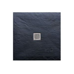 Τετράγωνη ντουζιέρα πέτρινη Pietra