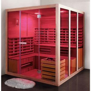 Infrared Sauna Promitheas 6 ατόμων
