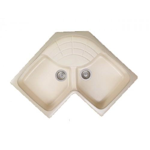 Sanitec Libra 310 Γωνιακός Νεροχύτης Κουζίνας