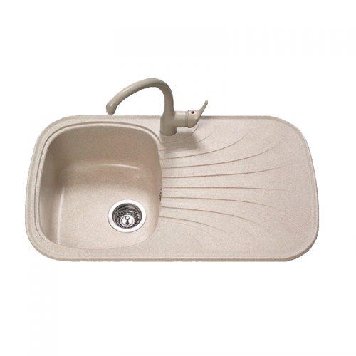 Sanitec Premium 315 Γρανιτένιος Νεροχύτης Κουζίνας