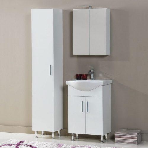 Έπιπλο μπάνιου Siena 55 white