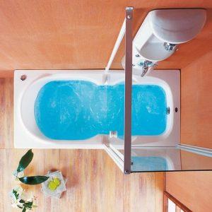 Ακρυλική μπανιέρα υδρομασάζ Acrilan Skiathos
