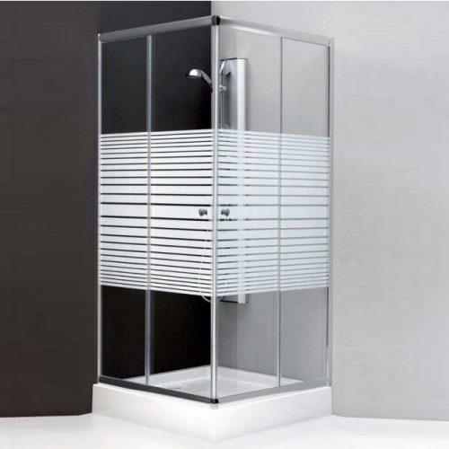 Τετράγωνη καμπίνα μπάνιου Soft