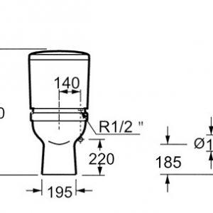torino ct1276c διαστάσεις