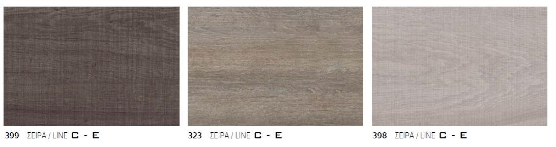 Χρωματολόγιο Furnibath σειρά C - E
