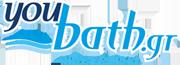 YouBath.gr Λογότυπο
